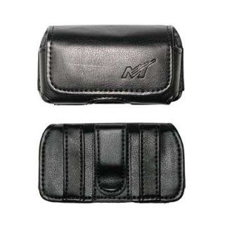 Premium Horizontal Leather Carrying Case Pouch for Samsung