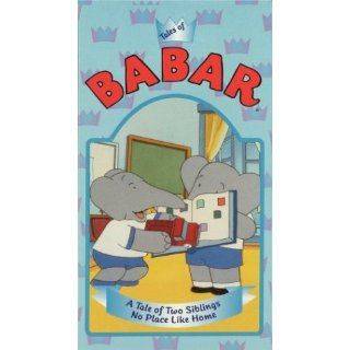 Babar   A Tale of Two Siblings & No Place Like Home [VHS