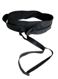 IGIGI by Yuliya Raquel Plus Size Obi Belt in Black: Yuliya