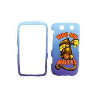 BlackBerry Torch 9850 Volt Cover Case Kiss My Butt Monkey