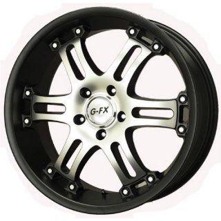 FX OR9 Truck Wheel 17x8.5 Matte Black Machined OR9 785 6114 18 MBM