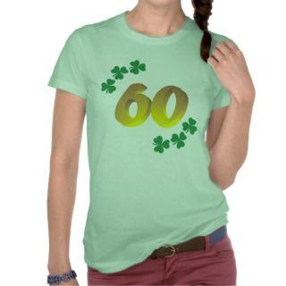 Funny Irish Birthday 60th gifts shirts