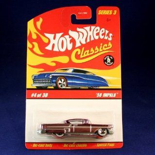 58 IMPALA (PURPLE) 2006 Hot Wheels Classics 164 Scale