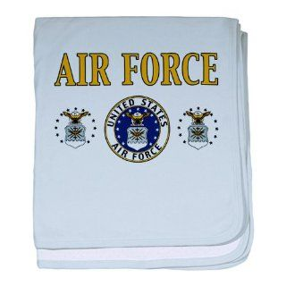 Baby Blanket Sky Blue Air Force United States Air Force