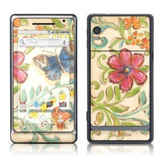 Garden Scroll Design Protective Skin Decal Sticker for