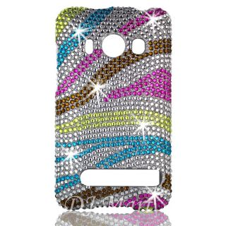 HTC EVO 4G Diamond Bling Phone Case Cover Shell