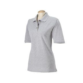 Square Womens Short Sleeve 100% Pique Polo Shirt HS152 Clothing