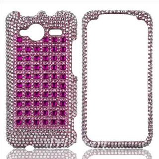 HTC EVO Shift 4G Diamond Bling Phone Case Cover Shell