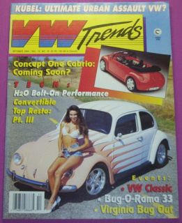 VW Trends Magazine Oct 1994 Hubel Urban Assualt VW