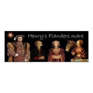 Henry called his rejected fourth wife a Flanders mare, but if she had
