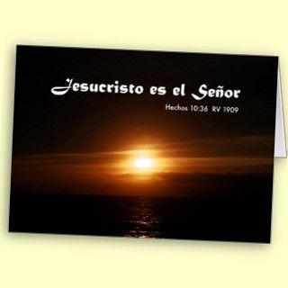 Versos de la Biblia con Fotos Jesucristo es el Señor