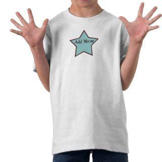 Cool Boy Customizable Star TShirt