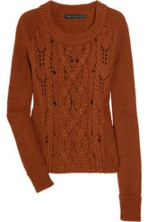 Marc by Marc Jacobs Uma cable knit merino wool sweater   65% Off