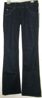 Hudson Women Jeans Signature Boot in St Martins Dark Blue Sz 26