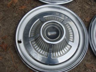 Mopar 66 Plymouth Fury Factory 14 inch Hubcaps