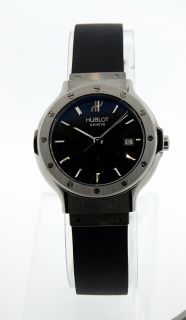 Hublot Ladies Classic Date Quartz Watch 1395 NE10 1 MSRP $3 900 FV12C