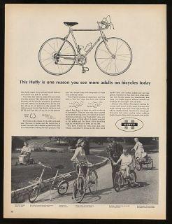 1965 Huffy Super 60 Bike Bicycle Print Ad