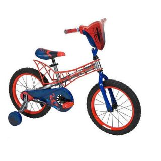 Huffy 16 inch Boys Bike Spider Man