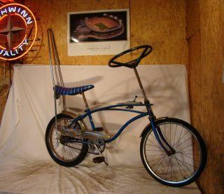 HUFFY THE WHEEL STEERING WHEEL MUSCLE DRAG BIKE VINTAGE  BICYCLE