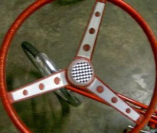 Huffy Rail Muscle Bike Steering Wheel Bicycle Decal Set