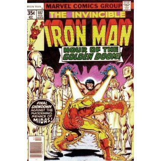 Iron Man (1st Series) #107 Bill Mantlo, Keith Pollard