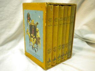 Vintage Dr Dolittle Books 6 Volume Set by Hugh Lofting Nice