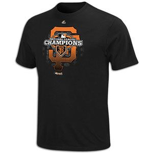Majestic MLB League Champions Clubhouse T Shirt   Mens   Baseball