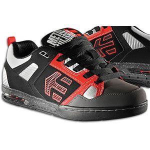 etnies Metal Mulisha Kontra   Mens   Skate   Shoes   Black/Red/Grey