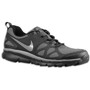 Nike Flex Trail   Mens   Running   Shoes   Dark Grey/Black/Metallic