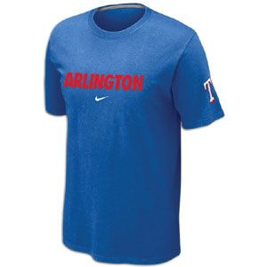 Nike MLB Local T Shirt 12   Mens   Baseball   Fan Gear   Rangers