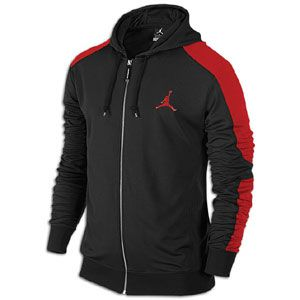 Jordan Retro 13 Jacket   Mens   Basketball   Clothing   Black/Gym Red
