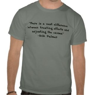 Adjusting the Causes Chiropractic Shirt