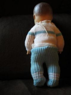 Vintage Doll 13 Boy Wet and Drink Doll Original Outfit 1960S