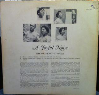 The Drinkard Singers A Joyful Noise LP VG LSP 1856 Vinyl 1958 Record