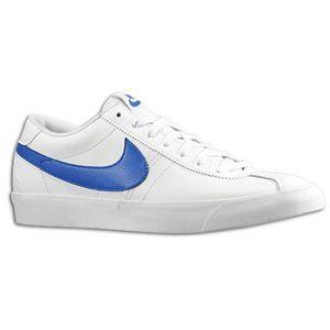 Nike Bruin Low   Mens   Basketball   Shoes   White/Game Royal