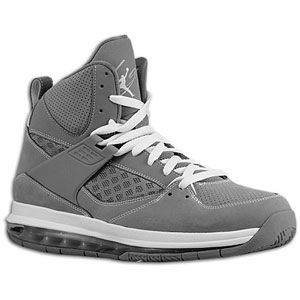 Jordan Flight 45 Max   Mens   Basketball   Shoes   Cool Grey/White