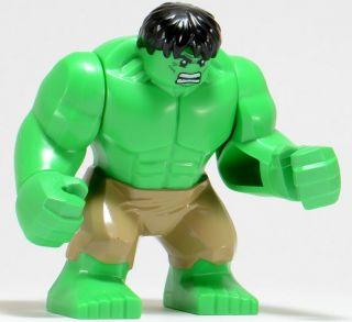 Lego Super Heroes Hulk Minifigure Figure Marvel Avengers 6868 New