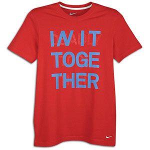 Nike Core Soccer T Shirt   Mens   Soccer   Fan Gear   USA   Sport Red
