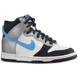 Nike Dunk High   Boys Grade School   Metallic Cool Grey/Dark Obsidian
