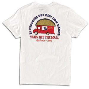 Vans El Especial Del Dia T Shirt   Mens   Skate   Clothing   White