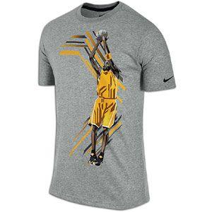 Nike Kobe Action T Shirt   Mens   Basketball   Clothing   Dark Grey