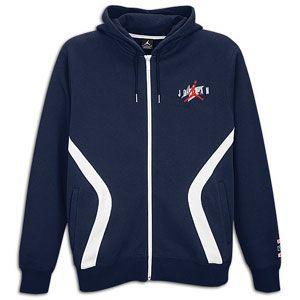 Jordan Retro 6 Full Zip Hoodie   Mens   Basketball   Clothing