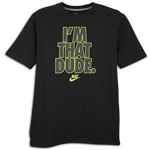 Nike Graphic T Shirt   Mens   Casual   Clothing   Black