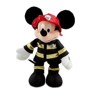 Official Disney Limited Edition Fireman Mickey Mouse Plush