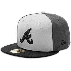 New Era MLB 59fifty Tri Pop Cap   Mens   Baseball   Fan Gear   Braves