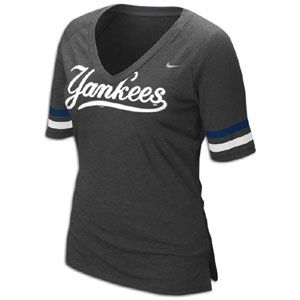 Nike MLB Fan T Shirt   Womens   Baseball   Fan Gear   Yankees   Grey