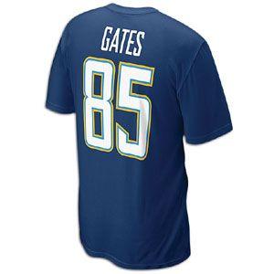 Nike NFL Player T Shirt   Mens   Antonio Gates   San Diego Chargers