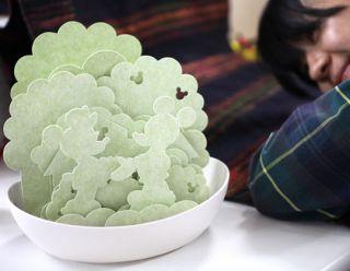 Room Mist Natural Humidifier Origami Sculpture Designer Diffuser