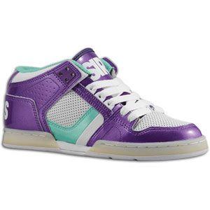 Osiris NYC 83 Mid   Womens   Skate   Shoes   Purple/White/Opal