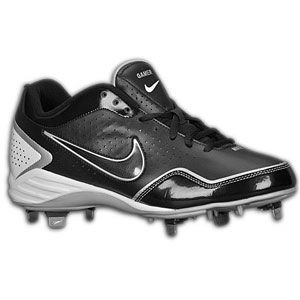Nike Gamer Conversion   Mens   Baseball   Shoes   Black/White